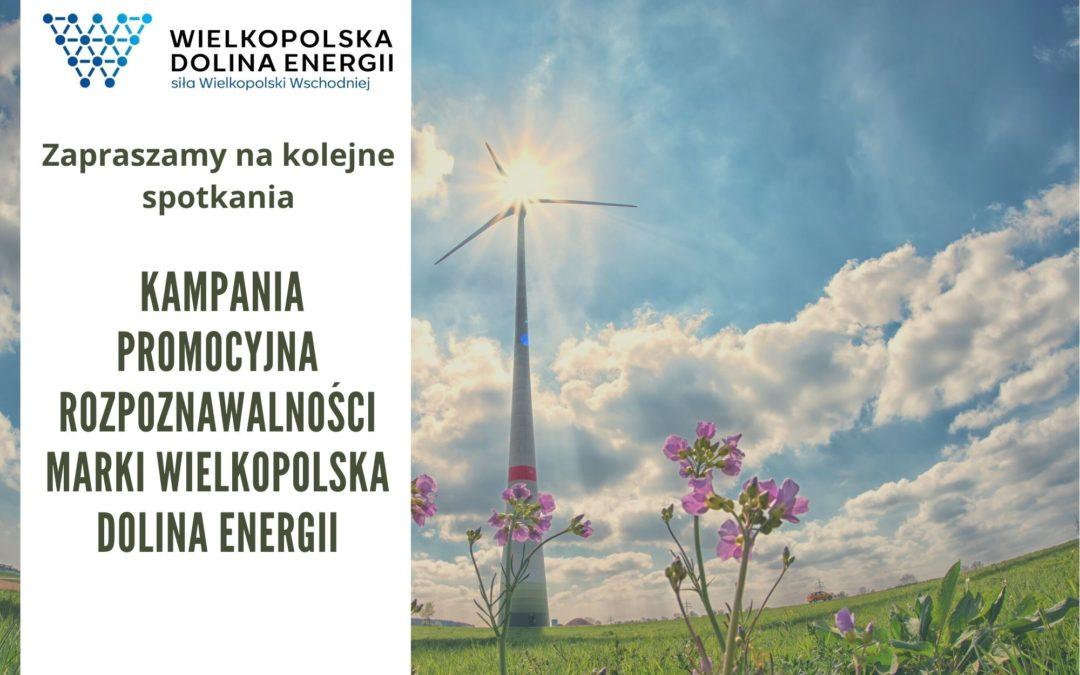 Kolejne spotkanie on-line w ramach kampanii promocyjnej rozpoznawalności marki Wielkopolska Dolina Energii (WDE) -12/08/2020