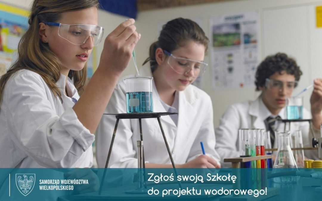 """Projekt """"Szkoła Wodorowa"""" – inicjatywa dla szkół ponadpodstawowych"""