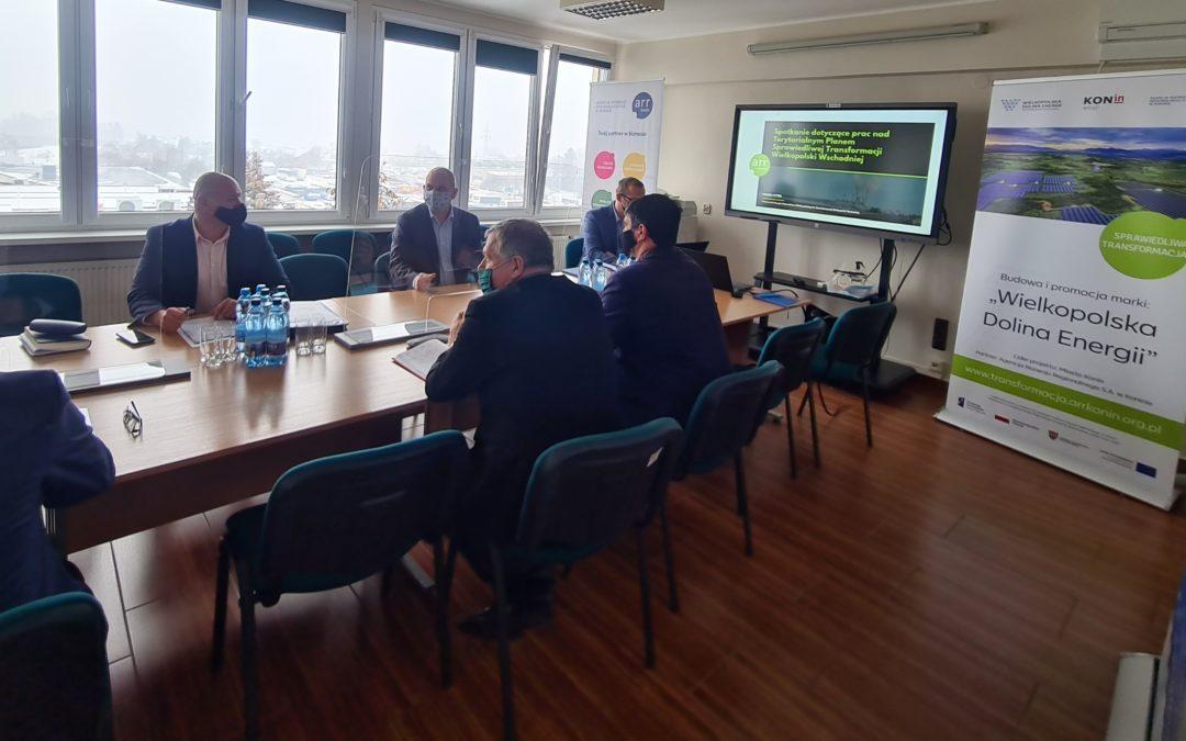 Spotkanie ze Związkami Zawodowymi ZE PAK dotyczące TPSTWW